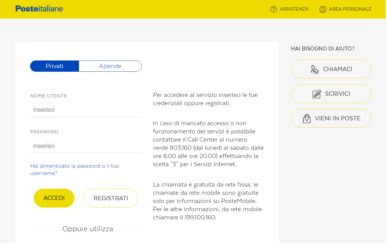 Phishing e SPAM Poste Italiane via SMS 2