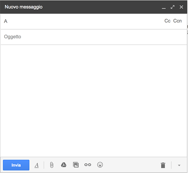 come inviare mail gmail