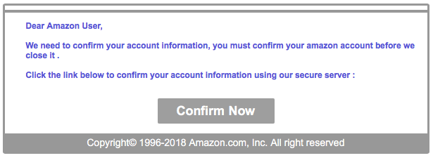 phishing amazon carta di credito