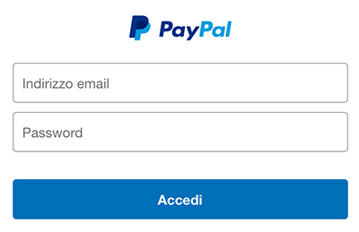 proteggere account paypal login