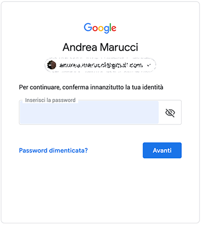 Come cambiare password di Gmail 1
