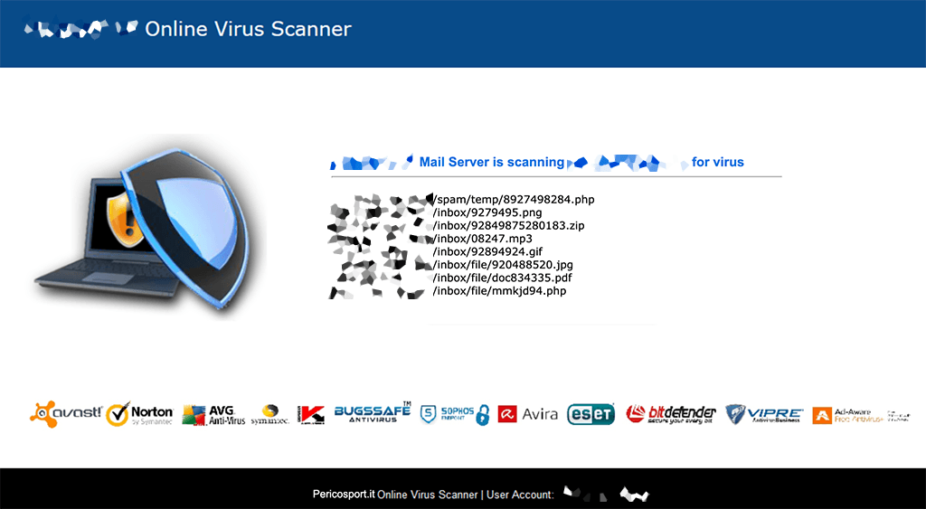 virus alert phishing